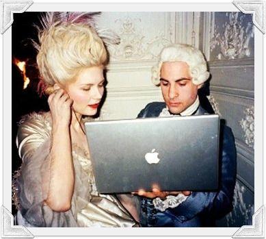 Déguisement et apple