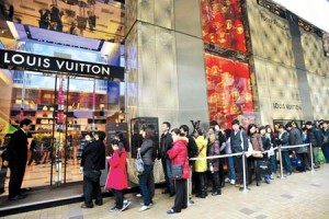 Chinese luxury consumption