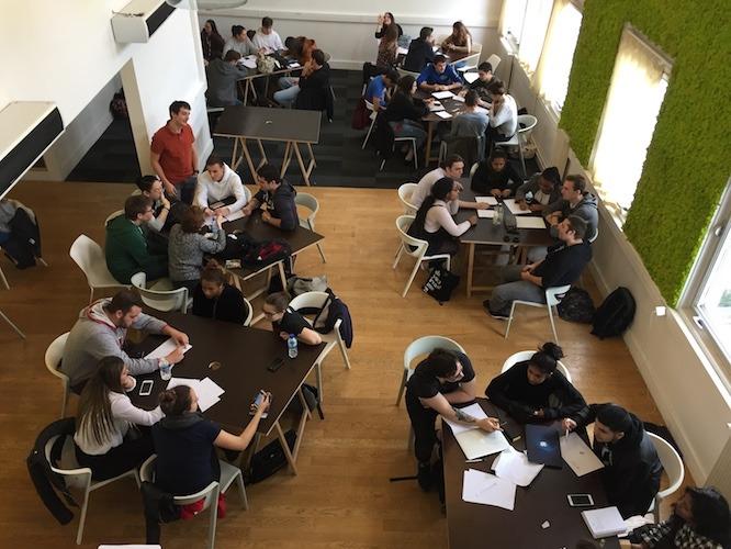 SUP'Internet - Les anciens étudiants aident les nouveaux