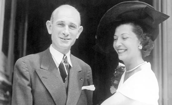 François et Jacqueline Sommer