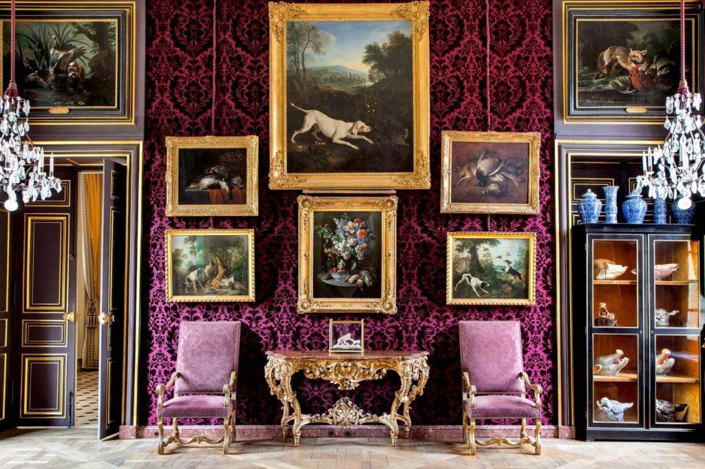 Le salon de Compagnie du musée de la chasse et de la nature à Paris
