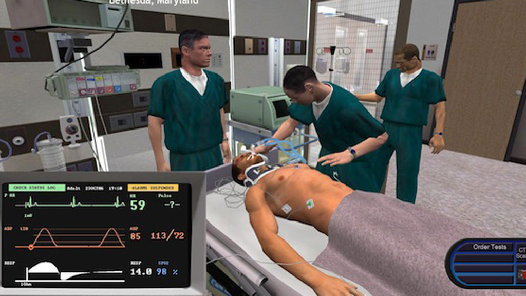 Exemple de serious game medical