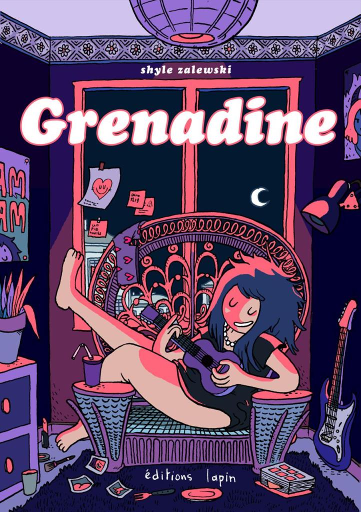 La couverture de Grenadine de Style Zalewski, éditions Lapin