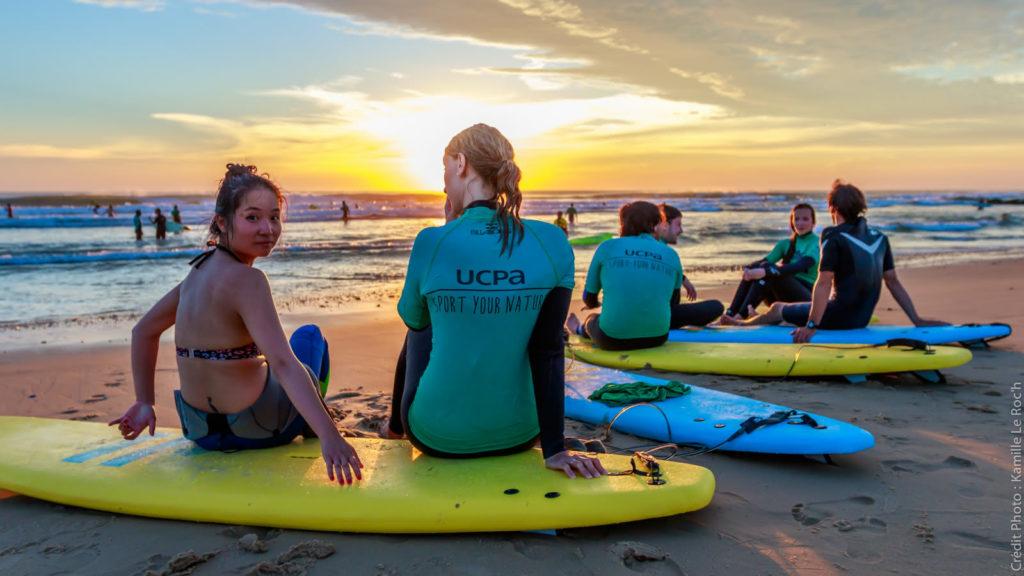 Le surf chez UCPA