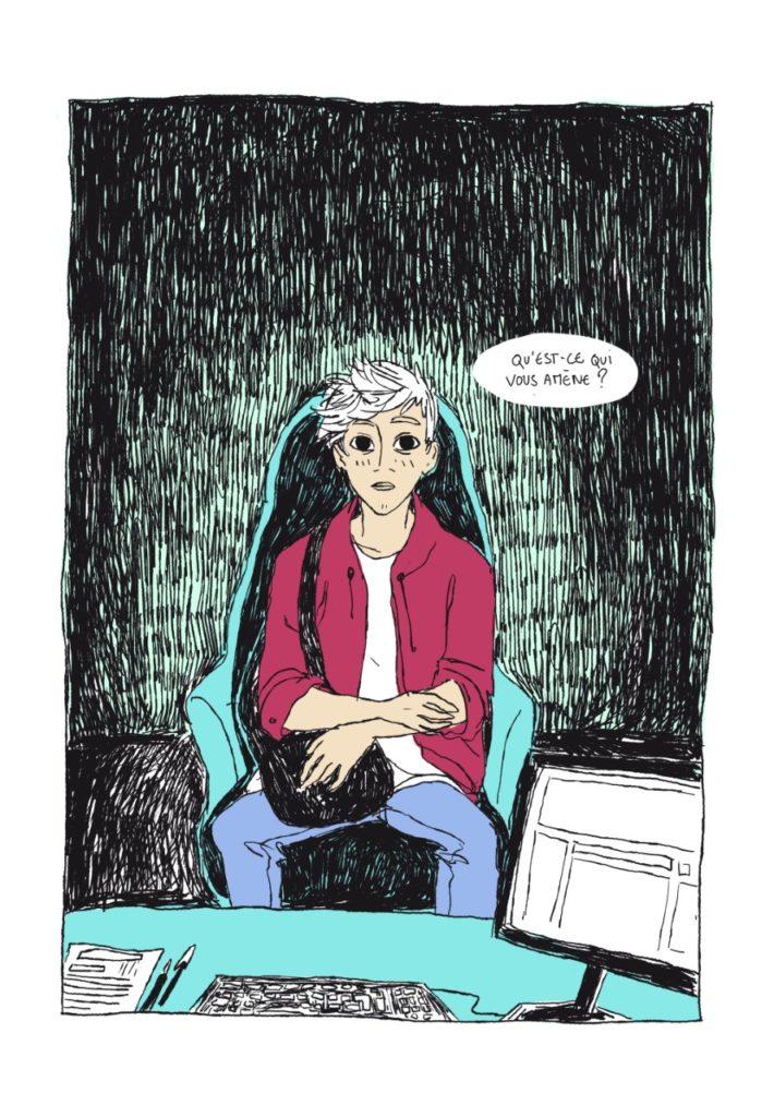 Sous le lit de Quentin Zuttion, éditions Lapin