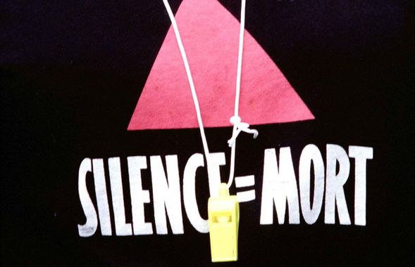 Actup Paris - Silence = Mort