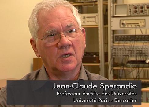 Jean-Claude Spérandio, directeur du DESS d'ergonomie de Paris V