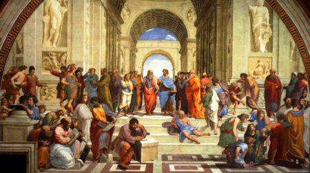 La Grèce et l'innovation Fast & Fresh Platon Aristote Pythagore Euclide Péricles
